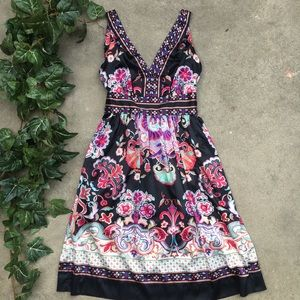 ICE Floral Dress